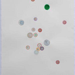 Œuvres sur papier 2017 - Technique mixte sur papier. 103x66cm