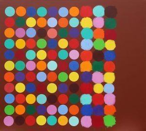 Pourquoi ne pas tenter - Acrylique sur toile - 190x210cm.