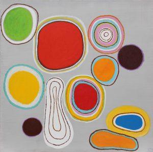 Stringimi - Acrylique sur toile - 180x180cm - 2003.