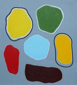 Résonner - Acrylique sur toile - 210x190cm - 2004.