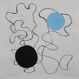 2005 - Gouache sur papier -Alberto CONT