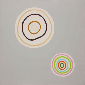 Solo per me - Acrylique sur toile - 120x120cm - 2005.