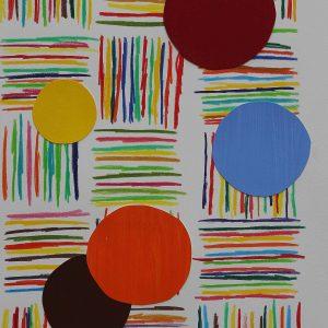 2006 - Crayons et gouache sur papier - Alberto CONT