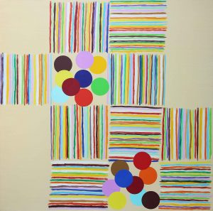 Concerto - Acrylique sur toile- 180x180cm - 2007.