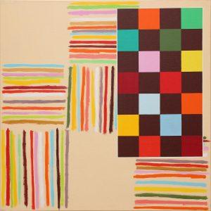 Grande musica - Acrylique sur toile - 100x100cm- 2008.