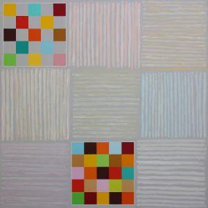 Bella mia - Acrylique sur toile - 150x150cm - 2009.