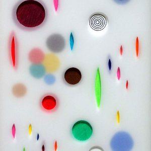 2009 -Crayons de couleur gouache papier et papier calque - Alberto CONT