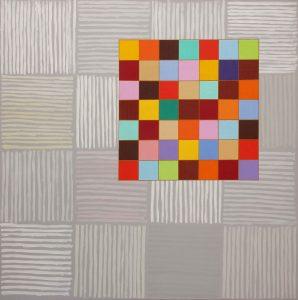Grigio e altro - Acrylique sur toile - 150x150cm - 2009.