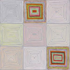 Avanti - Acrylique sur toile - 100x100cm - 2010.