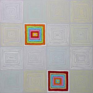 Suono - Acrylique sur toile - 120x120cm - 2010.