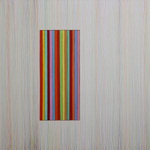 Leggera - Acrylique et crayon sur toile - 150x150cm - 2011.
