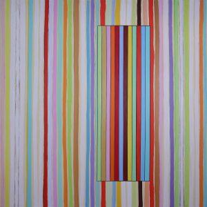 Luci d'estate - Acrylique sur toile - 240x240cm - 2011.