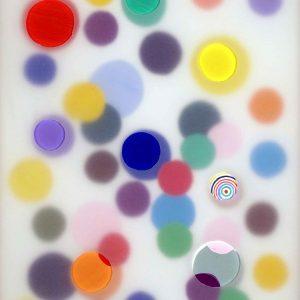 2013 - Crayons de couleur gouache papier et papier calque - Alberto CONT