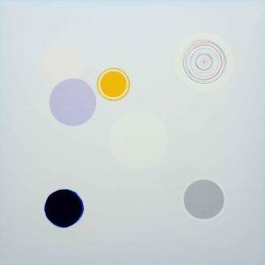 Carezza azzurra - Acrylique sur toile - 100x100cm.