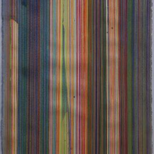 Technique mixte sur papier 103 x 66 cm. 2017 Cont. Alberto