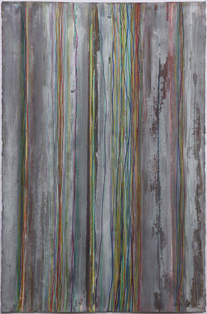 Technique mixte sur papier 103 x 66 cm. 2017 Alberto Cont