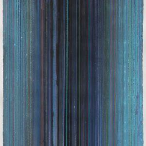 Crayons de couleur et gouache sur papier - 103x66cm.