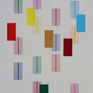 Apparizioni - 200x160cm - Acrylique sur toile