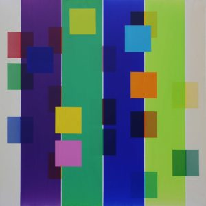 Nastri - 150x150cm - Acrylique sur toile