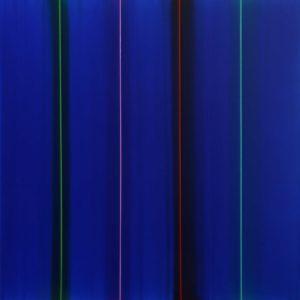 Nel-mio-blu-100x100-cm.Acrylique-sur-toile-2018